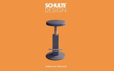 Neu bei Schulte: Hocker & Tisch LOOP